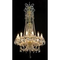 Lustre baroque WRANOVSKY PRINCESSE en cristal de Bohême 30 % au plomb