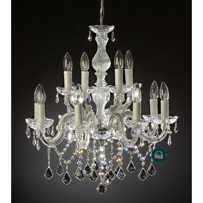 Lustre-baroque-cristal-Swarovski