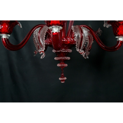 Lustre-Murano-rouge-a