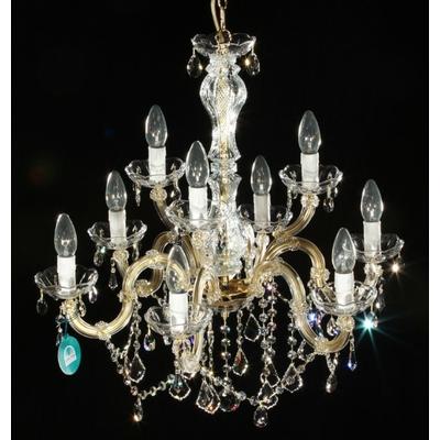 Lustre baroque en cristal Spectra Swarovski ® 9 feux Orsini