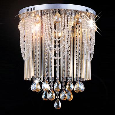 Lustre moderne en cristal Manfrino