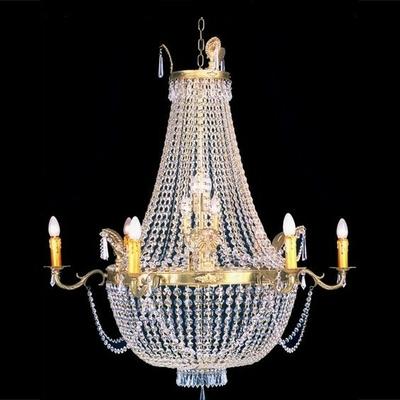 Lustre en verre de style montgolfière Ø90 cm Tuileries