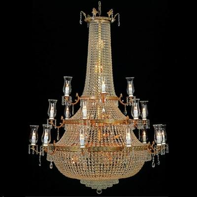 Lustre en verre de style montgolfière Ø130 cm Versailles