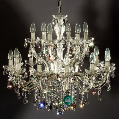 Lustre en cristal Spectra Swarovski ® 18 feux Montazzoli