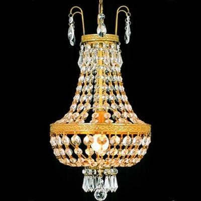 Lustre en cristal style montgolfière Ø24 cm Saumur