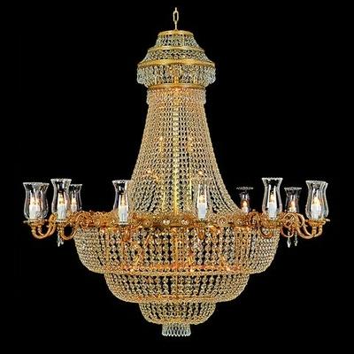 Lustre en cristal style Napoléon Ø120 cm Malmaison