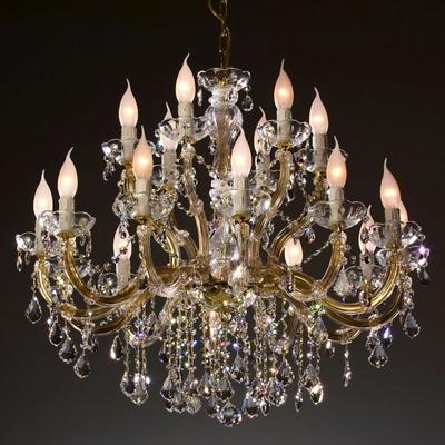 Lustre en cristal Swarovski  ® 18 feux Stignano
