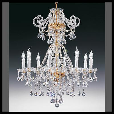 Lustre baroque en cristal au plomb 24% Voltolina Dream