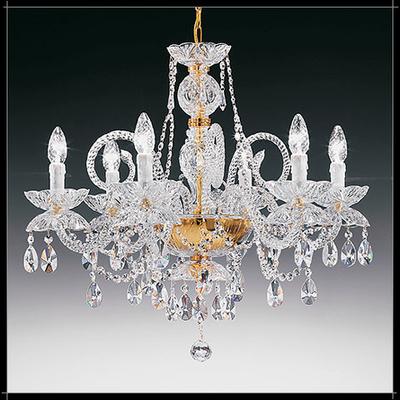 Lustre baroque en cristal au plomb 24% Voltolina Granada