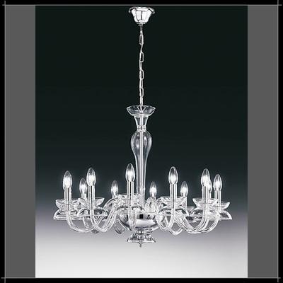 Lustre baroque en cristal au plomb 24% Voltolina Dali