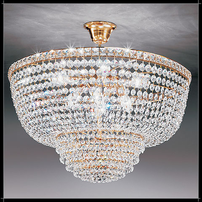 Suspension montgolfière en cristal Voltolina Settat
