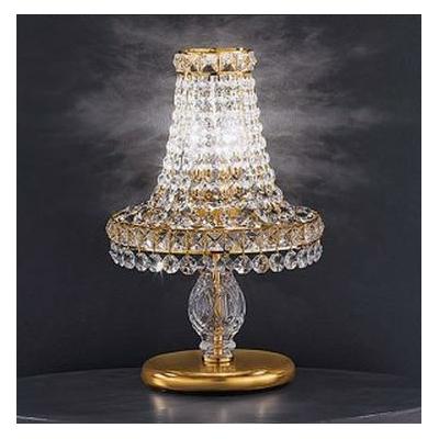 Lampe de chevet en cristal au plomb 24% Voltolina Beethoven
