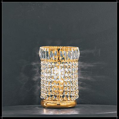Lampe de table en cristal au plomb 24% Voltolina Roma