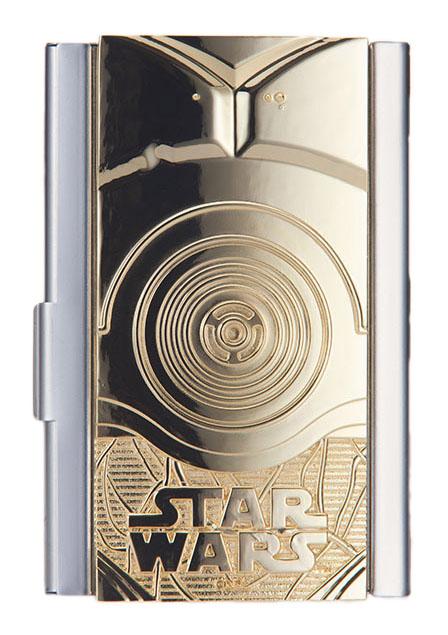Star Wars étui à cartes de visite C3PO