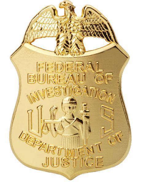 Réplique badge agent du FBI