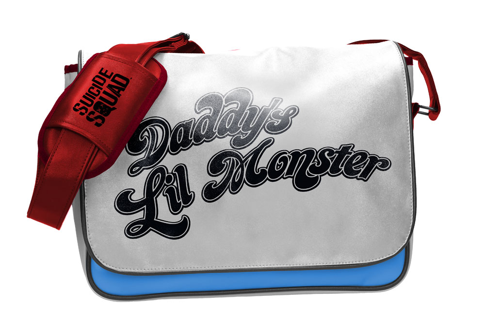 Sacoche officielle Suicide Squad sacoche Daddy\'s Lil Monster