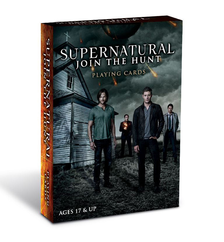 Jeu de cartes Supernatural officiel Join the hunt