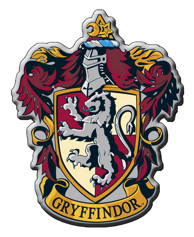 Aimant blason de gryffondor aimant harry potter officiel sous blister cin ma harry potter - Harry potter blason ...