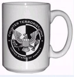 Tasse officielle 24 heures chrono logo cellule anti-terroriste