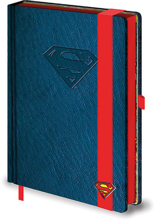 Carnet de notes logo Superman