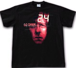 Tee shirt officiel Jack Bauer série 24 heures chrono