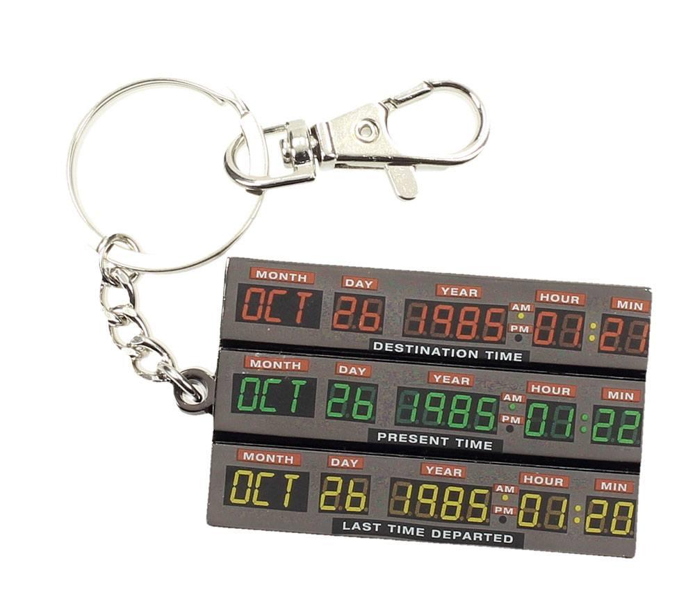 Porte clés officiel Retour vers le futur time control