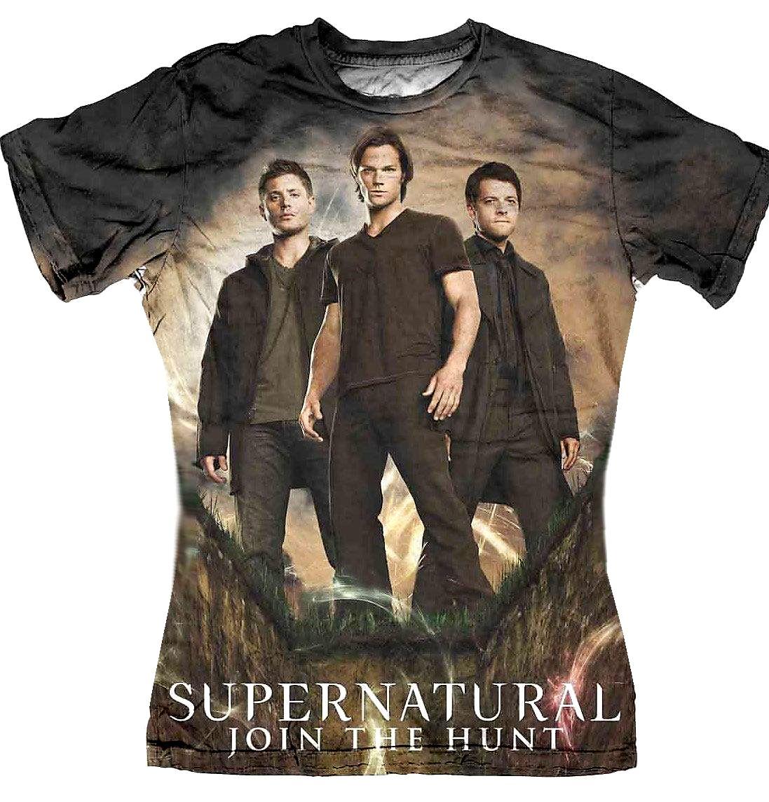 tee-shirt-femme-supernatural