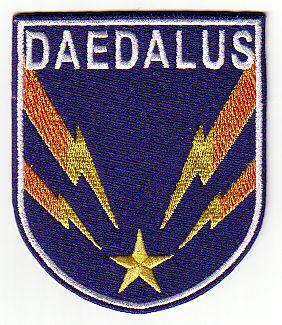Ecusson de l\'equipage du Vaisseau Daedalus dans la série Stargate Atlantis