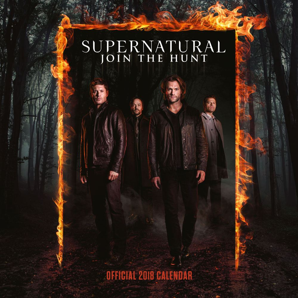 Calendrier Supernatural 2018 Join the Hunt
