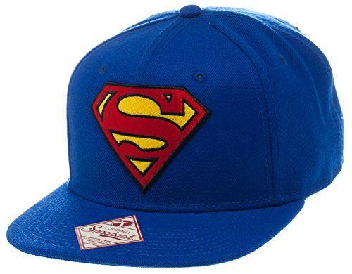 Casquette logo Superman officielle