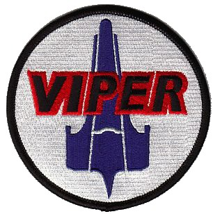 Ecusson des pilotes de Viper du Battlestar Galactica