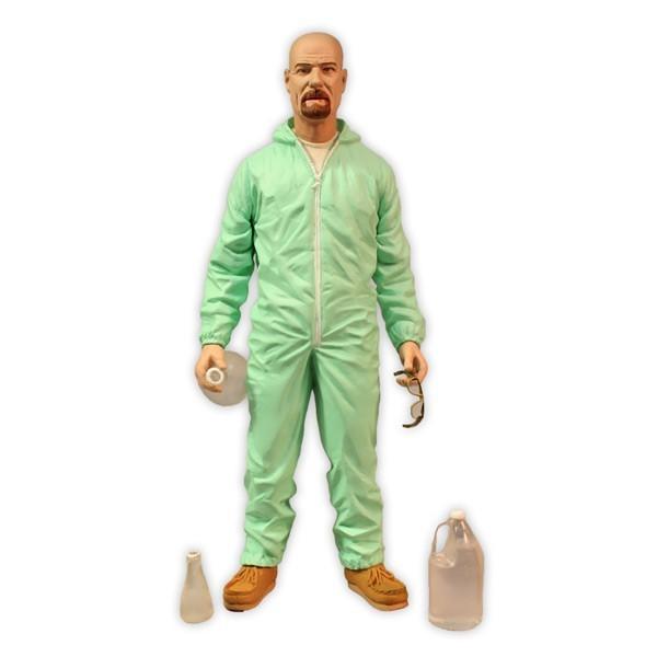 Breaking Bad figurine Walter White Blue Hazmat Suit 15 cm