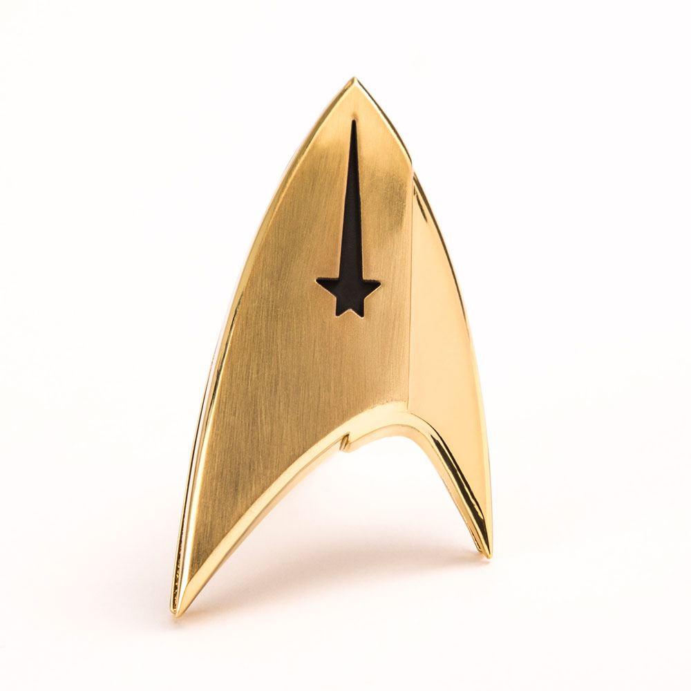 Star Trek Discovery réplique 1/1 Insigne Starfleet badge Division Commandement