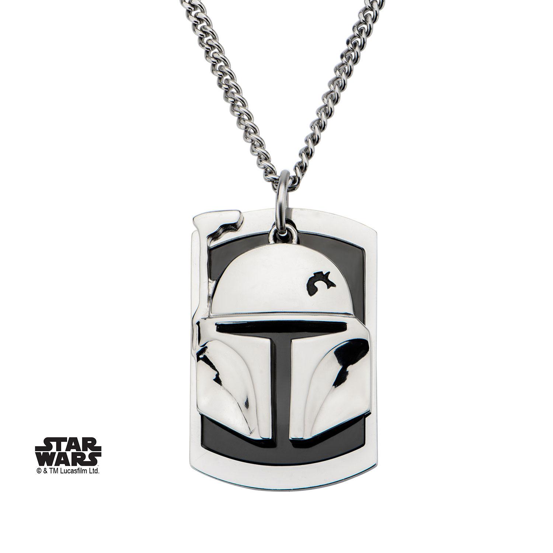Pendentif Star Wars Boba Fett
