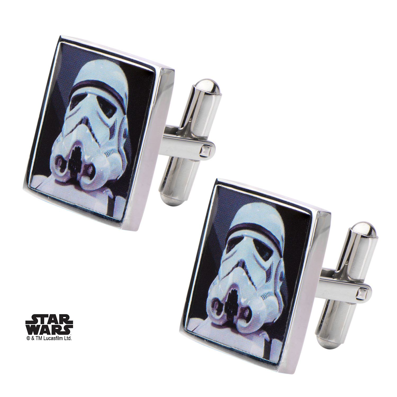 Boutons de manchette Star Wars Stormtrooper