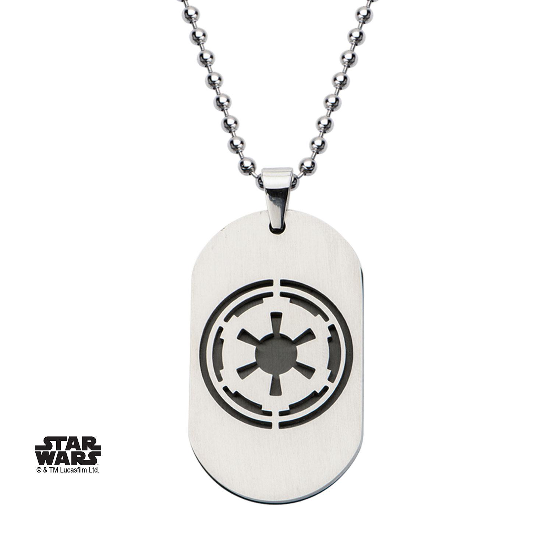 Pendentif Star Wars symbole de l\'Empire