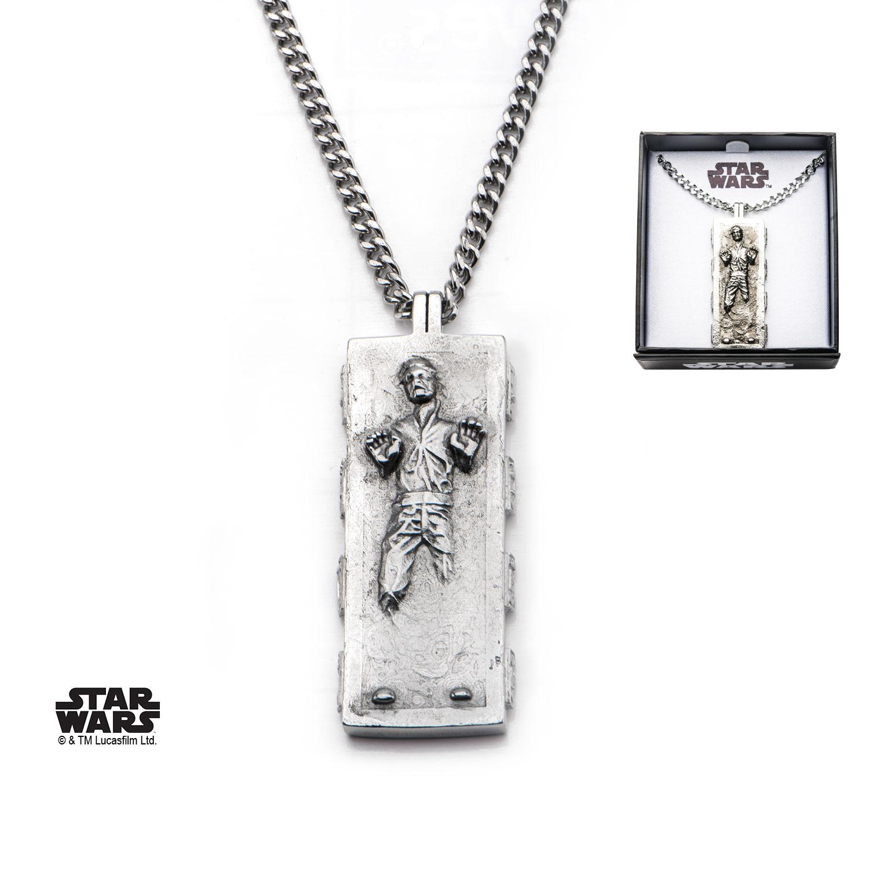Star Wars Pendentif officiel Han Solo dans carbonite
