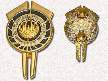 Insigne Battlestar Galactica commandant Adama