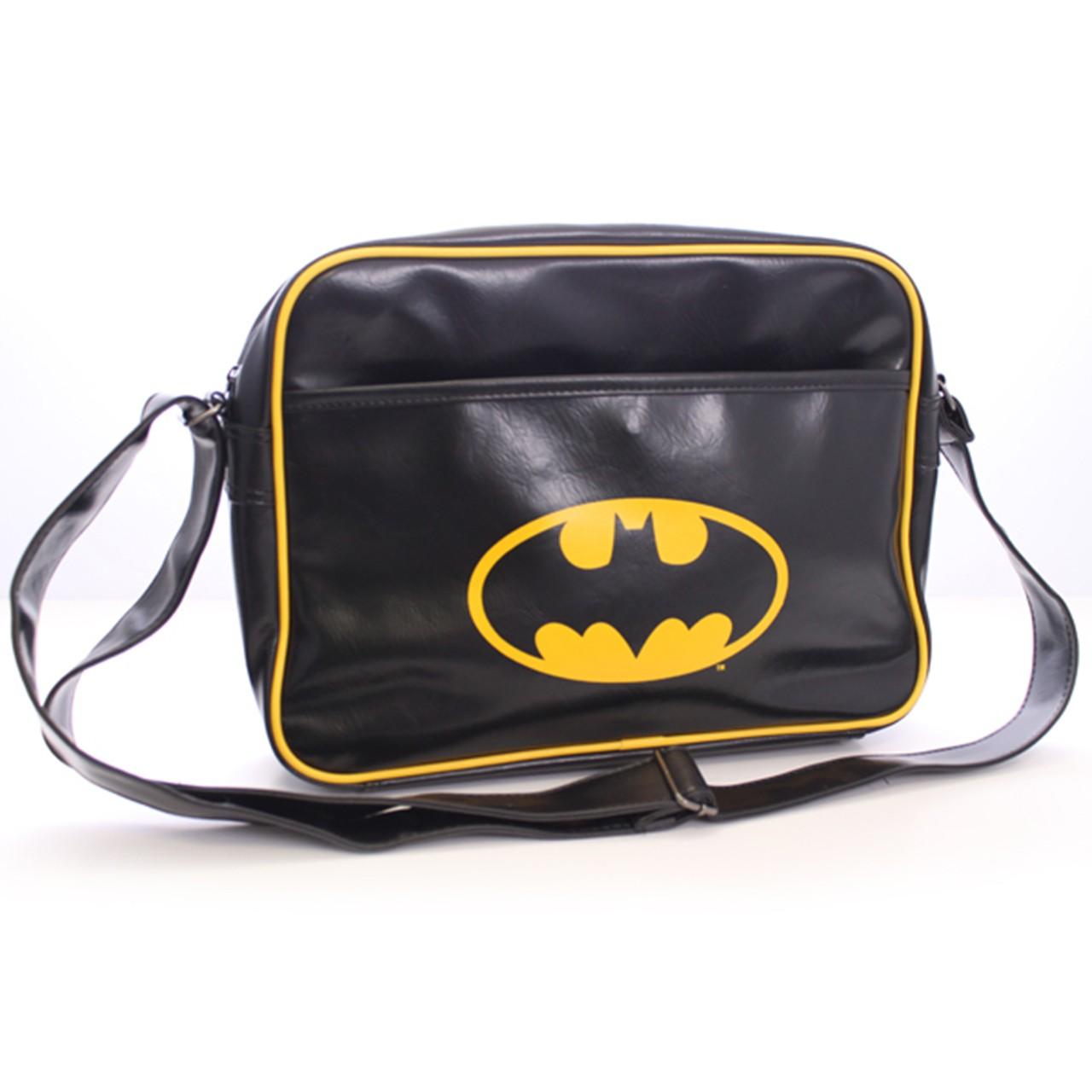 Sac à bandoulière logo Batman