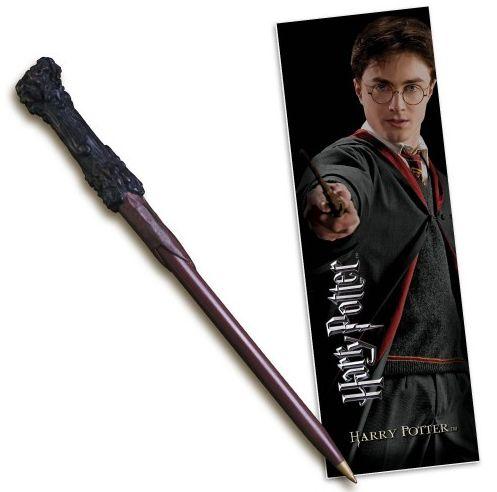 Set stylo et marque page Harry Potter officiel