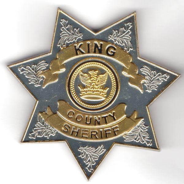 Badge Walking Dead insigne de sheriff de Rick Grimes
