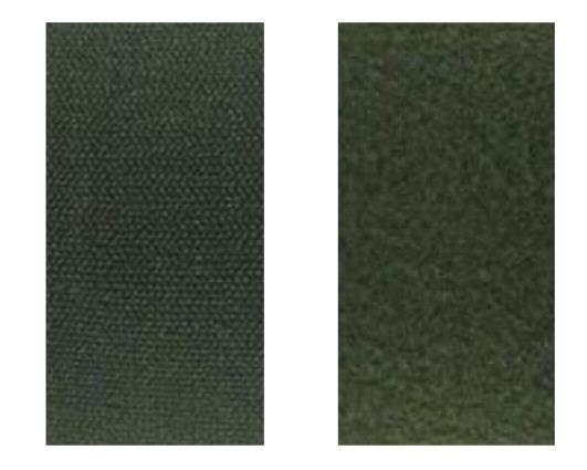 Velcros kaki male et femelle pour ecusson rectangle type paintball