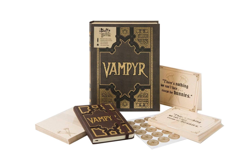 Set de papeterie Buffy deluxe Livre Vampire