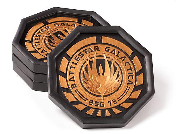 sous-verres-logo-battlestar-galactica