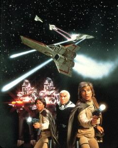 Photo officielle 20x25cm Battlestar Galactica années 80