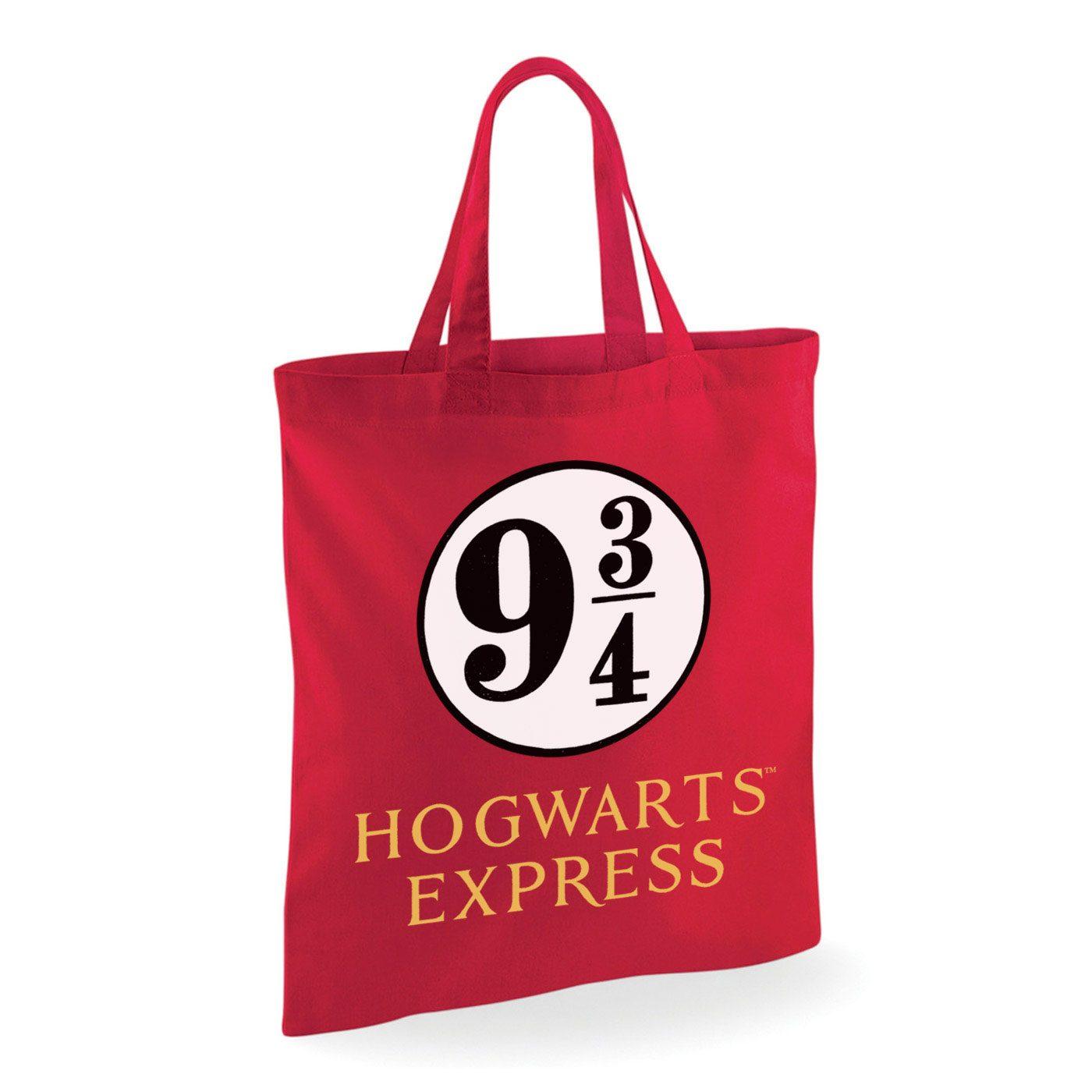 Harry Potter sac shopping poudlard express quai 3/4