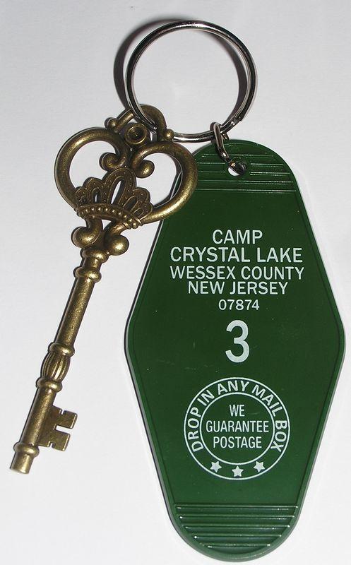 Vendredi 13 Clés du Camp Crystal Lake