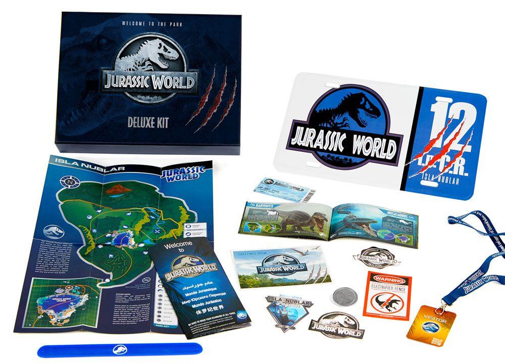 Coffret officiel Bienvenue à Jurassic World