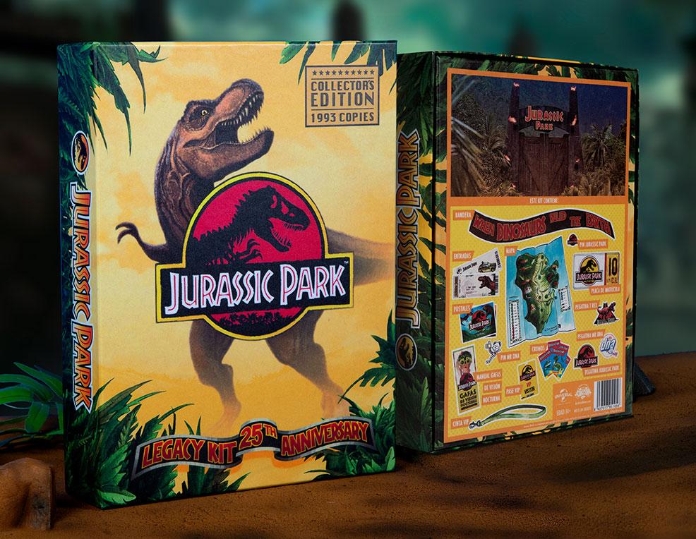 Coffret Jurassic park edition limitée 25ème anniversaire