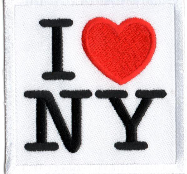 Ecusson J\'aime New York
